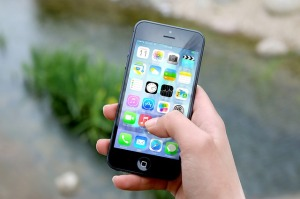 Une application mobile sur téléphone portable
