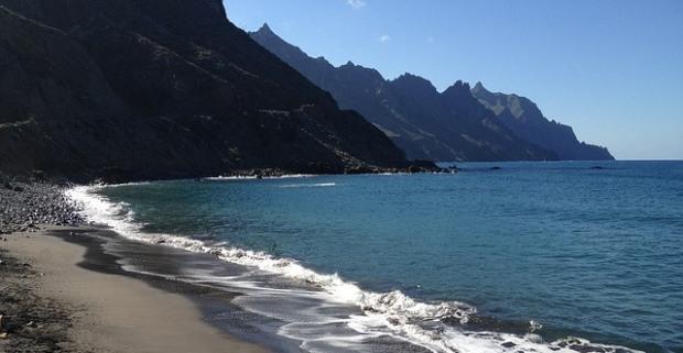 Ténériffe, plage des Canaries