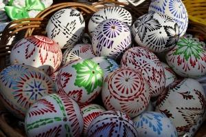Velikonoční vajíčko ozdobené