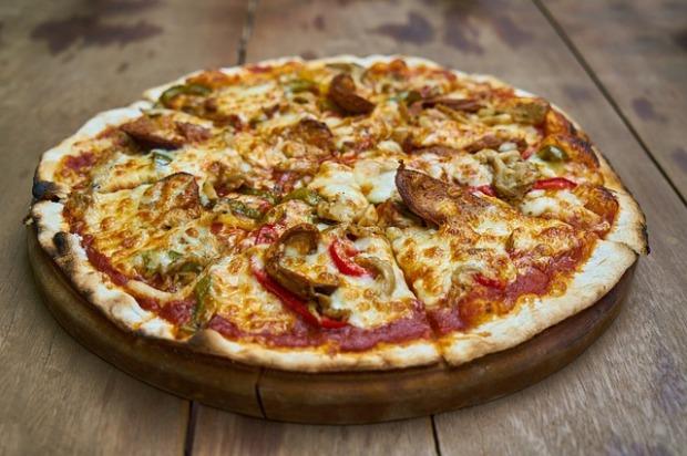 pizza en silicone